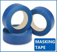 "BLUE  MASKING TAPE 2"" 50MM-25mm x 50M PAINTER PAINTING DECORATING ART CRAFT"