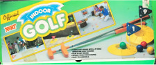 In Box Vintage Nerf Indoor Golf Game W/ 4 Original Balls 9 Flags