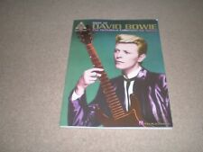 DAVID BOWIE Best Of  GUITAR TAB Tablature SONGBOOK