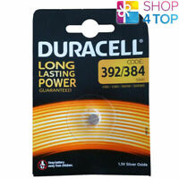 DURACELL 392/384 SR41 BATTERIES SILVER OXIDE 1.5V WATCH BATTERY EXP 2022 NEW