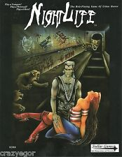 NightLife  3rd Edition - The Lost Edition,  RPG of Urban Horror, Core Rules