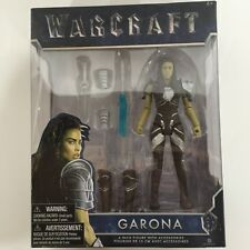"NEW Official World of Warcraft Movie 6"" Garona Action Figure With Accessories"