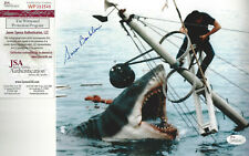 Jaws 1st Victim autographed 8x10 great photo of shark attacking Brody Jsa Cert