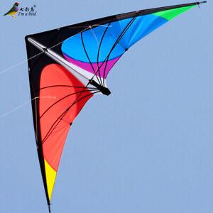 NEW 7.2ft 2.2m Stunt Power Kite Outdoor Sport fun Toys novelty dual line Delta