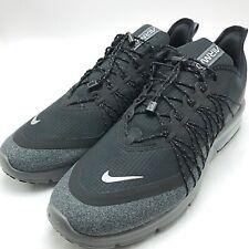 Nike Air Max Sequent 4 Utility Men's Running Black /Metallic Silver Av3236-001