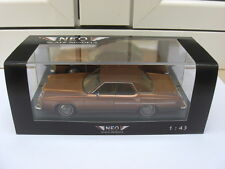 Ford LTD 1973 brown NEO Scale Models 44235 MIB 1:43 n mercury lincoln
