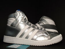 2013 ADIDAS SUPERSTAR CONFERENCE HI METALLIC SILVER WHITE G96913 NEW 13