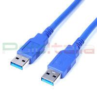 Cavo da 0,5 a 5m USB 3.0 tipo maschio cable prolunga filo per pc dati hard disk