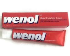 50G. Wenol Metal Polishing Cream Cleans And Polishes Brass Copper Silver Gold
