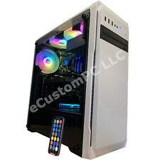 Intel i7 Gaming Desktop PC Computer 16GB 2TB GeForce GTX 1060 HDMI RGB Fast SSD