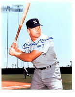 MICKEY MANTLE  NEW YORK YANKEES  8x10 PHOTO BASEBALL HOF USA MLB FAC'S AUTO