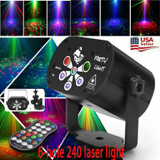 240 Pattern Led Rgb 3In 1 Laser Projector Stage Lighting Disco Bulb Party Lamp
