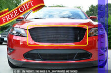 GTG 2010 - 2012 Ford Taurus 1PC Gloss Black Upper Replacement Billet Grille