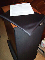 ACOUSTIC RESEARCH AR 9, AR 90, & OTHER BLACK  SPEAKER GRILL CLOTH