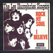"THE LES HUMPHRIES SINGERS 45T SP Anglo 1970 ""Rock my soul"" / Vinyle MINT"