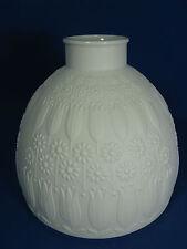 70´s Pop Art Design Heinrich relief porcelain vase 1904   / Porzellan Vase 15,5