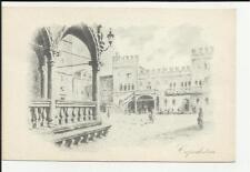 vecchia cartolina artistica capodistria comitato nazionale per i rifugiati itali