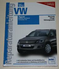 Reparaturanleitung VW Tiguan 1,4 liter / 2,0 liter TSI + TDI, ab Baujahr 2007