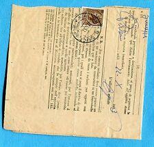 SIRACUSANA - £.20 ISOLATO ann.guller PALERMO, 22.10.53 su RECLAMO  (600204)