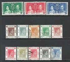 HONG KONG 1937-48 GVI Mint and Used Issues Selection (May 213)