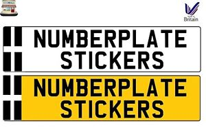 CORNWALL CORNISH FLAG NUMBERPLATE NUMBER PLATE STICKER SIGN DECAL VINYL