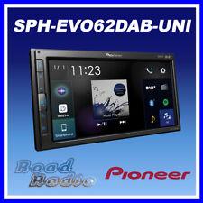 Pioneer SPH-EVO62DAB-UNI Double Din Screen Carplay Android Auto BT DAB USB