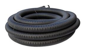 Flexipipe Slotted Ag Sub Soil Drainage Plastic Flexible Pipe 50mm x 20M Coil