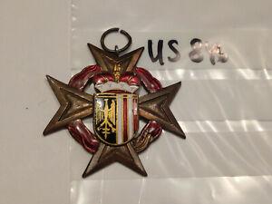Orden Feuerwehr Österreich Verdienstkreuz Ober Österreich  (us846)