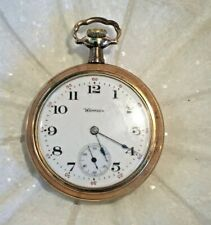 Vintage Gold Hampden Pocket Watch
