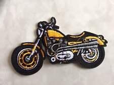 IRON ON PATCH - MOTORBIKE BIKE BIKER HELLS ANGELS RACING TOURING TT CAFE RACER 3