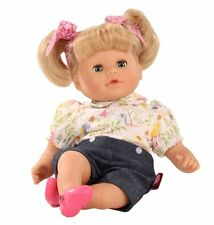 Gotz Cosy-Aquini 33cm Animals Blonde doll with bunches