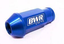 BLACKWORKS BWR ALUMINUM LUG NUTS BLUE 12X1.5 FOR HONDA ACURA TOYOTA SCION MAZDA