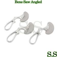 "3 Pcs Surgical Angled Bone Saw 6"" Orthopedic Veterinary UPGRADED Instruments"