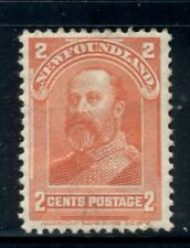NEWFOUNDLAND 82 SG87 MH 1898 2c red Edward VII as Prince of Wales Cat$13