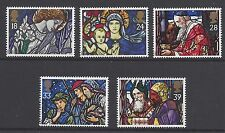 Great Britain 1992 Christmas Stained Glass Windows Set MUH