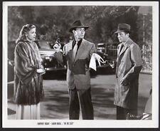 Humphrey Bogart & Lauren Bacall The Big Sleep Vintage Orig re-release Photo