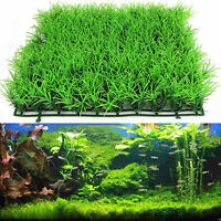 Artificial Water Aquatic Green Grass Plant Lawn Aquarium Fish Tank Landscape UXJ