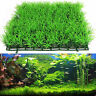 MCArtificial Water Aquatic Green Grass Plant Lawn Aquarium Fish Tank Landscape.z