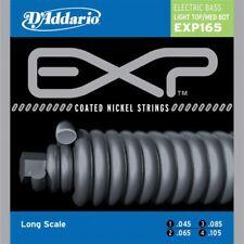 D'Addario EXP165 rivestito Light Canotta Med Basso Scala Lunga le corde per Chitarra Bass