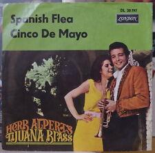 HERB ALPERT'S TIJUANA BRASS SPANISH FLEA UK PRESS SP DISQUES LONDON 1965