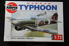 XL006 AIRFIX 1/72 maquette avion 01027 Hawker Typhoon 1988