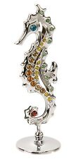 Mothers Day Birthday Gift Ideas Presents Seahorse with Colour Swarovski Crystals