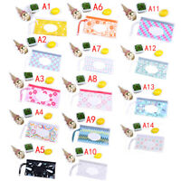 Eco-Friendly Baby Wipes Box Cleaning Wipes Snap Strap Wipe Container NTAT