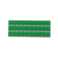 30 Pieces 0.95mm to 2.54mm SOT23 to SIP3 Adapter SMD convert ~Double Side  PO
