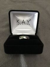 Kay Jewelers Tungsten Carbide Solid Engagement Ring - Triton (Size 8) Triton