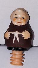 GOEBEL Friar Tuck Bottle Stopper-Pour Spout & Original Rubber Seal Label on back