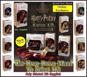 Harry Potter Wizarding World Knitting Craft Kits (Select Item) Learn Knitting!