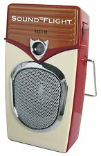 Retro Transistor AM/FM  Pocket Size  Vintage Radio.