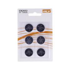Pack de 6 Pilas Tipo Botón de Litio en Blister gran Calidad Modelo CR2032 3V b07