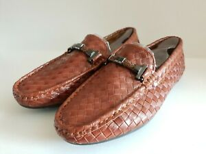 Brand new men's slip on loafers driving shoes walking casual in Brown